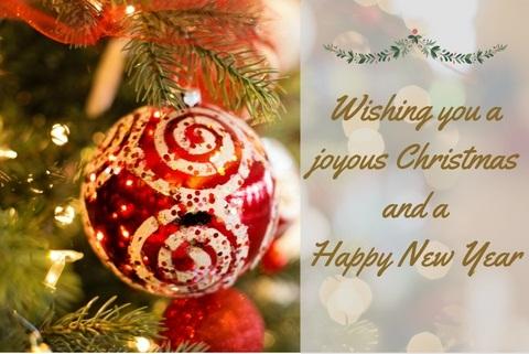 Have a Joyous Christmas Break!