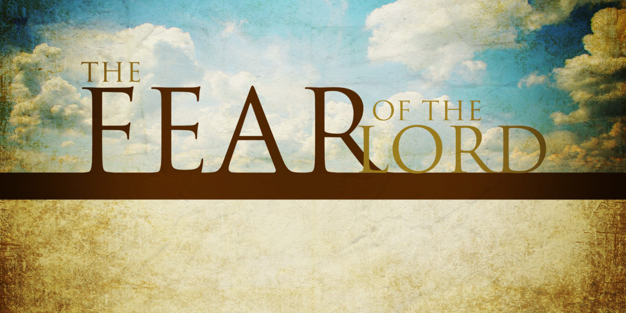 Nothing to Fear but God Himself